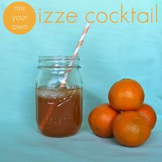 oh, sweet joy!: recipe ((izze cocktail))