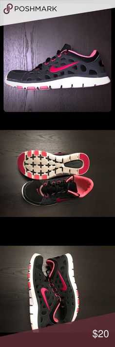 Nike Shoes Nike Black and Pink Athletic shoes Nike Shoes Athletic Shoes