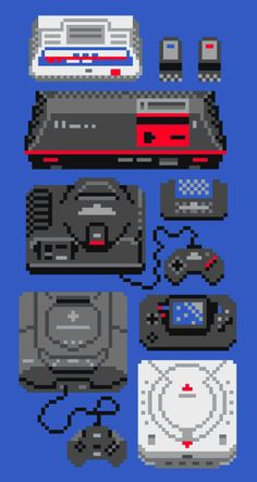 Service Game History by Adam Rufino, via Behance Sega Systems Vintage Video Games, Retro Video Games, Vintage Games, Video Game Art, Retro Games, Games For Teens, Adult Games, Fun Group Games, Systems Art