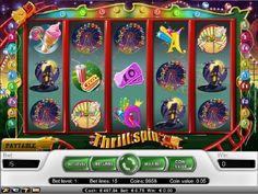 Spillemaskin Thrill Spin - Thrill Spin er et 15 gevinstlinet carnival og fornøyelsespark tematisert spillemaskin fra NetEnterteinment. - http://www.norgesautomaten-gratis-spill.com/spill/spillemaskin-thrill-spin #Jackpot #Norgesautomaten #spilleautomater #Spillemaskin #ThrillSpin