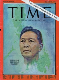 Ferdinand Marcos- Philippine President 1965 to 1986. I still believe he was the best Philippine President till date.