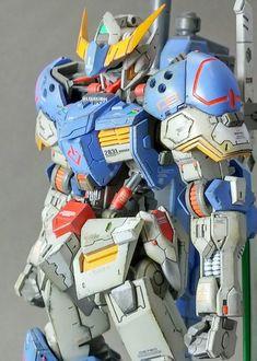 模型・プラモデル投稿SNS【MG-モデラーズギャラリー】ガンプラ|AFV|ジオラマ| - 1/144ASW-G-08ガンダムバルバトス