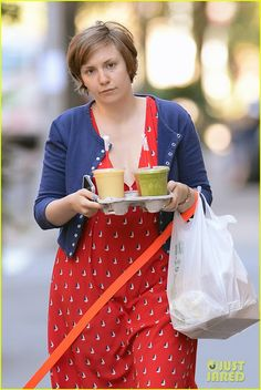 Celeb Diary: Lena Dunham in New York