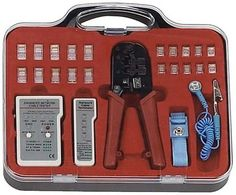 This Is Just What You Need To Test Your Computer Network. This Set Includes: An Enhanced Network Cable Tester, A Network Cable Terminator, A Cable Stripping And Crimping Tool, Plus More. Everything Is