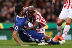 Stoke City 1-2 Chelsea: Gary Cahill's late winner sends Blues 13 ...