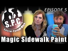 SPC Projects: Magic Sidewalk Paint - YouTube