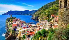 Deixe-se levar pelo charme da Cinque Terre na Itália