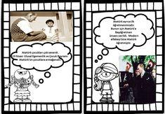 10 Kasım Etkinlikleri #Atatürk #Atatürksevgisi #10Kasım Diy And Crafts, Crafts For Kids, Printable Crafts, Album, Art Education, Art For Kids, Preschool, Projects To Try, Acting