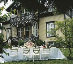 """Villa Snøringsmoen. Foto: Else """"Sprossa"""" Rønnevig"""