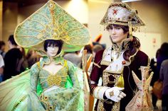 Trinity Blood - Seth Nightroad and Suleyman by OkariDane on DeviantArt Fancy Costumes, Cosplay Costumes, Halloween Costumes, Trinity Blood, Arte Steampunk, High Fantasy, Manga, Just Amazing, The Magicians