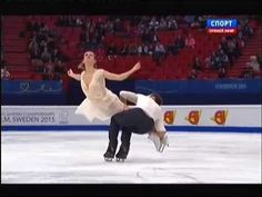 ▶ European Figure Skating Championships 2015. FD. Gabriella PAPADAKIS / Guillaume CIZERON - YouTube Magnifique ce couple !