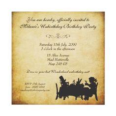 Unbirthday invite