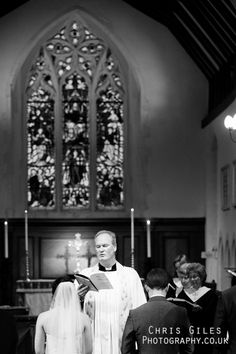 worplesdon church wedding ceremony