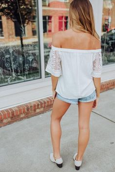 Most Girls Off The Shoulder Top