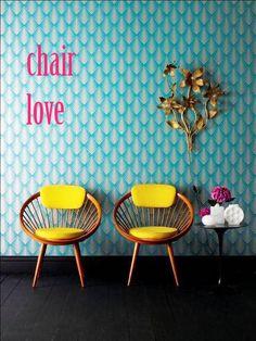 i love chair