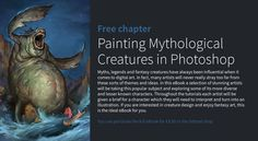 Painting Mythological Creatures in Photoshop