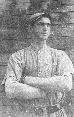 Baseball icon Shoeless Joe Jackson, 1908