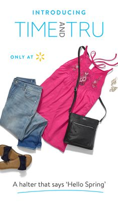 536bb8282cf7d Fashion's always in season with Time and Tru Women's apparel. Light up the  room with