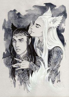 Thranduil/Elrond