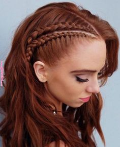 2019 Hair Color Trends That You Should Copy Right Away in 2019 | Hair Colors | Braided hairstyles, Viking hair, Long hair styles