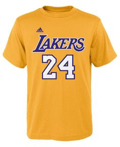 f1a844112 adidas Boys  Kobe Bryant Los Angeles Lakers Player T-Shirt Los Angeles  Lakers Players
