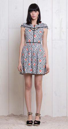 Vestido Azuleta | Lookbook | Antix Store
