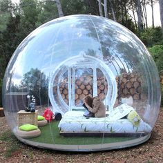 Outdoor Inflatable Bubble Dome Tent On Sale Beautiful Transparent Tent People Inflatable Bubble House Promotion ! Outdoor Inflatable Bubble Dome Tent On Sale Beautiful Transparent Tent People Inflatable Bubble House Promotion ! Backyard Camping, Tent Camping, Outdoor Camping, Camping Ideas, Scout Camping, Diy Camping, Camping Crafts, Glamping Tents, Camping Activities