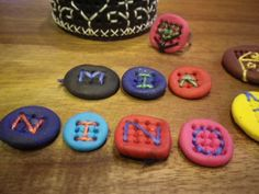 ...lovely idea, made of polymer clay