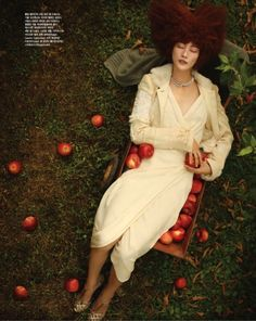 """Full of Fall"" by Han Jong Chule for Vogue Korea 
