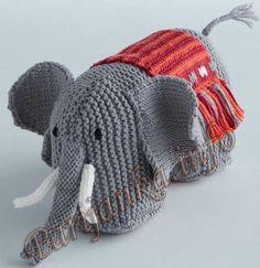 Игрушка слон (д) 34*85 Phildar №3571