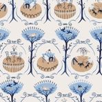 Walk in the Park with Henry by Wendy Bray Quirky Wallpaper, Pastel Decor, Pattern Illustration, Textile Design, Illustrators, Paint Colors, Pattern Design, Print Patterns, Whimsical