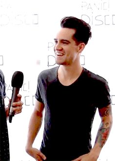 he's so cute // Brendon Urie