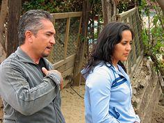 the dog whisperer   The Dog Whisperer - Season Three - Cesar Millan and wife, Ilusion