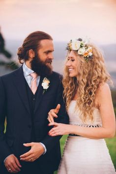 Grooms with buns on their wedding day is seriously one of 2014's best hair trends - Wedding Party