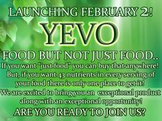 We are the 43 essential nutrient company.  Make the shift and join the Yevolution. www.jodiunruh.com