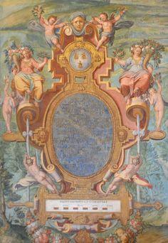 Орнамент и стиль в ДПИ - Картуши из Галереи карт, Ватикан