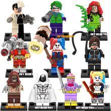 Juguetes de los niños Super Heroes Gambit Blanco Deadpool NICK FURY Juguete pokemon shopkins Compatible Con Lego Minifigure Building Block Ladrillo(China (Mainland))