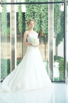 #press show #Angle Sanchez #N10005X #wedding #weddingdress #Aline #flower #NOVARESE #プレスショー #アンヘル・サンチェス #ウエディング #ウエディングドレス #Aライン #フラワー #ノバレーゼ