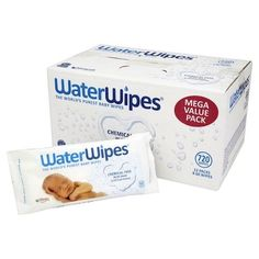 Baby Water Wipes - 12 X 60 (720 Wipes) #WaterWipes