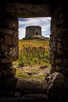 Martello Tower. Dalkey Island. Dublin. Ireland.   www.colmjackson.com