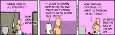 The Dilbert Strip for March 3, 1990