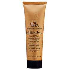 Bumble & Bumble Brilliantine - great for smoothing fly aways or creating a beachy wave look | Sephora