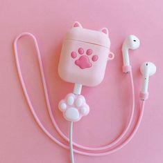 Paw Airpods Protector Case For Iphone – ivybycrafts Girly Things, Cool Things To Buy, Cute Headphones, Unicorn Fashion, Accessoires Iphone, Kawaii Room, Kawaii Accessories, Accesorios Casual, Gamer Room