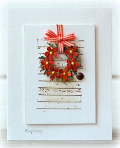 IC406 Wreath by Biggan - Cards and Paper Crafts at Splitcoaststampers