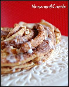 Kringle de canela y nueces
