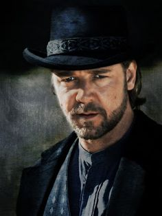 "Russell Crowe: Ben Wade in to Yuma"". Best western remake ever! Actors Male, Actors & Actresses, Male Celebrities, Celebs, 3 10 To Yuma, Cowboys And Indians, Real Cowboys, Russell Crowe, Western Movies"