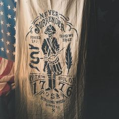 """Just put a few new things up on the store including the hand painted Winding Wheel Supply """"Soul of 1776"""" Flag. Other added items are: Dog leashes, Whiskey Glass Mats, Danson N°22 Bourbon Toothpicks, and Don't Tread On Me bottle openers. Go give them a look. Much obliged.  #leadaquietlifeandworkwithyourhands  www.WindingWheelSupply.com (Direct Link In Profile) ______________________________ #usa #madeintheusa #madeinusa #america #american #americanmade #handmade #handcrafted..."""