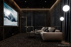 movieroom Home theaters 10 Basement Home Theater for an Ultimate Pleasure at Home design Home Theatre, Home Cinema Room, Home Theater Decor, Best Home Theater, Home Theater Speakers, Home Theater Rooms, Home Theater Seating, Home Theater Projectors, Home Theater Design
