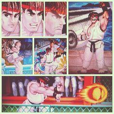Ryu from Street Fighter II