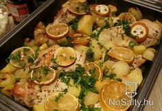 Görög citromos csirke